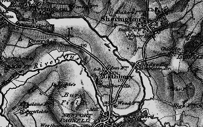 Old map of Lathbury Park in 1896