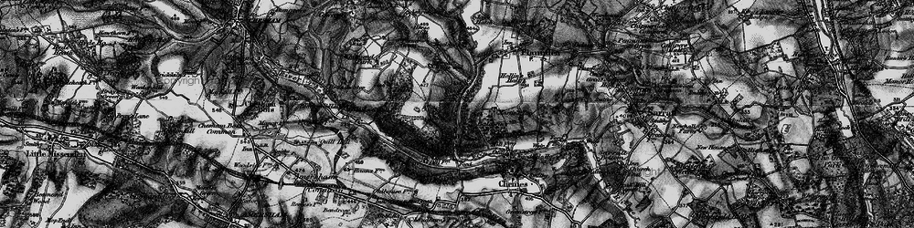 Old map of Latimer in 1896