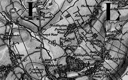 Old map of Lavington Sands in 1898