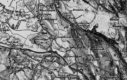 Old map of Lawkland Green in 1898