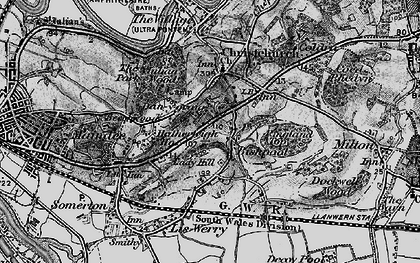Old map of Lawrence Hill in 1897