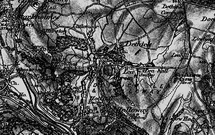 Old map of Lea Hall in 1896