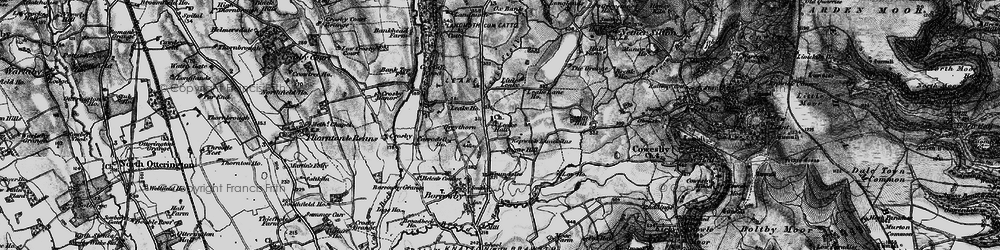 Old map of Leake Stell in 1898