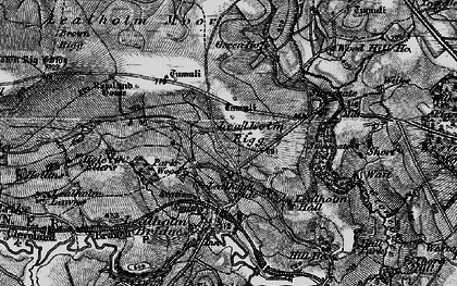 Old map of Lealholm Moor in 1898