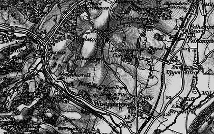 Old map of Leamoor Common in 1899