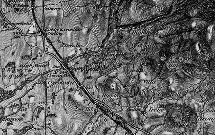 Old map of Leck Beck in 1898