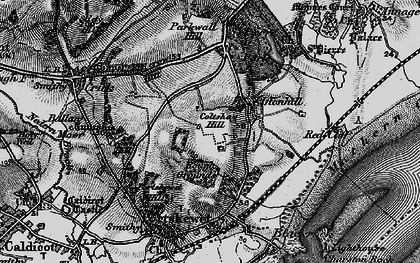 Old map of Leechpool in 1897