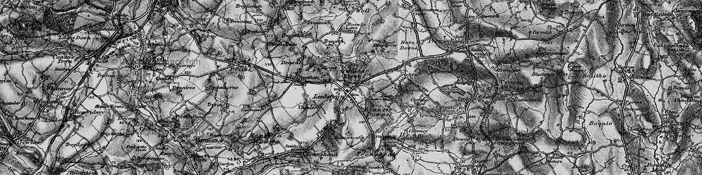 Old map of Leedstown in 1896