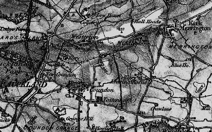 Old map of Leeholme in 1897