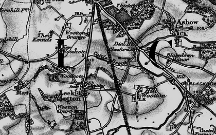 Old map of Larch Covert in 1898