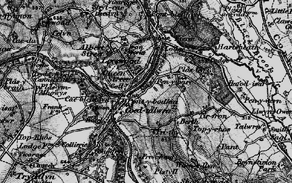 Old map of Leeswood in 1897