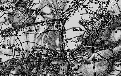 Old map of Leigh Park in 1898