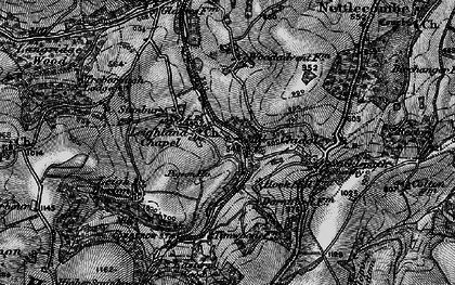 Old map of Leighland Chapel in 1898