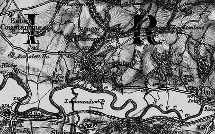 Old map of Leechmeadow Cott in 1899