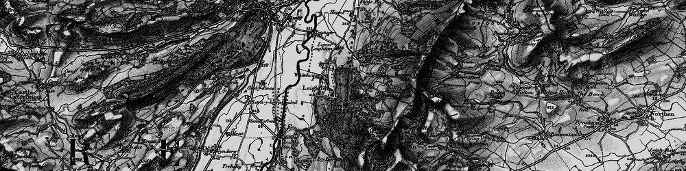 Old map of White Ho, The in 1899