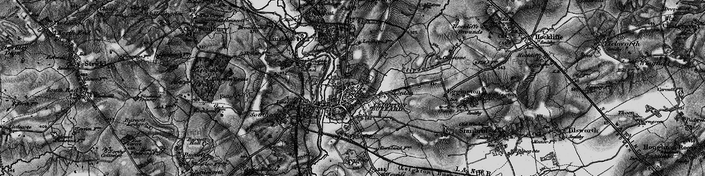 Old map of Leighton Buzzard in 1896