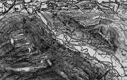 Old map of Lenacre in 1897