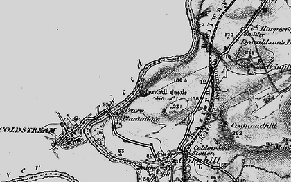 Old map of Lennelhill in 1897