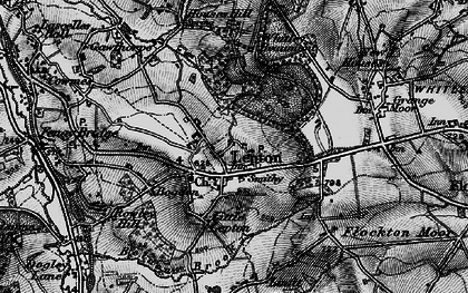 Old map of Lepton in 1896