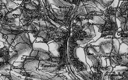 Old map of Levalsa Meor in 1895