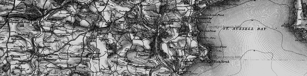 Old map of Levalsa in 1895