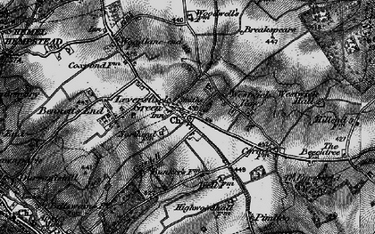 Old map of Leverstock Green in 1896