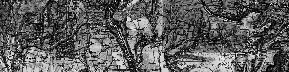 Old map of Levisham Beck in 1898