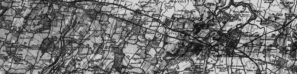 Old map of Lewson Street in 1895