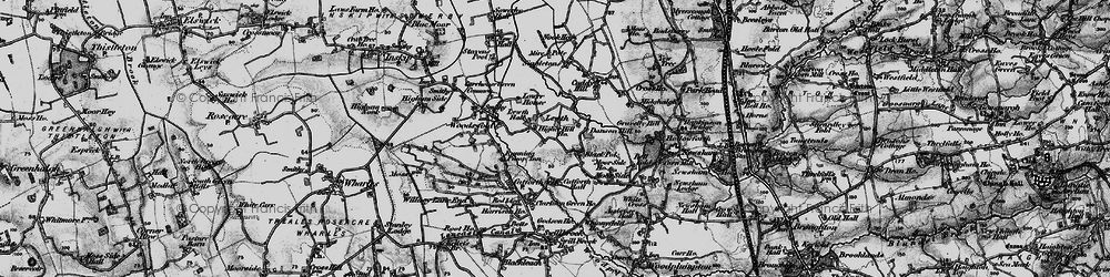 Old map of Lewth in 1896