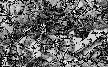 Old map of Weston Fm in 1899