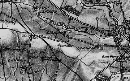 Old map of Lidstone in 1896