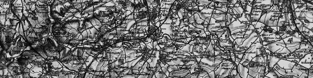 Old map of Lifford in 1899
