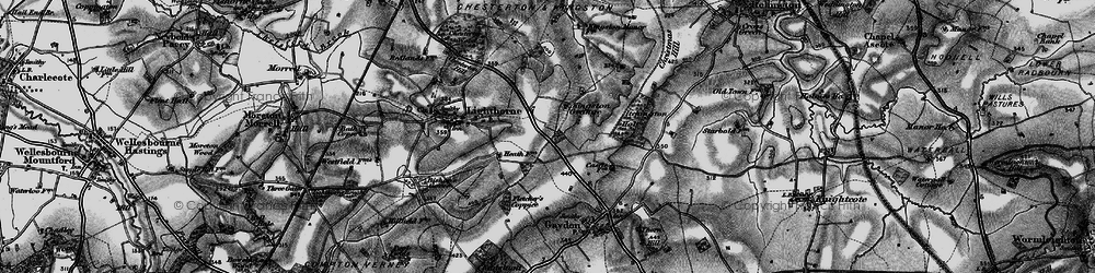 Old map of Lighthorne Heath in 1898