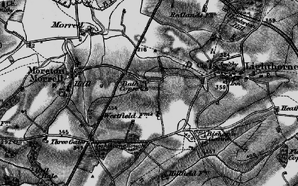 Old map of Lighthorne Rough in 1898