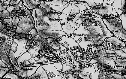 Old map of Lightwood in 1899