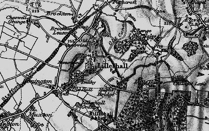 Old map of Lilleshall in 1897