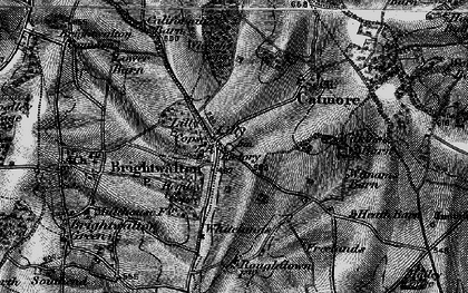 Old map of Lilley in 1895