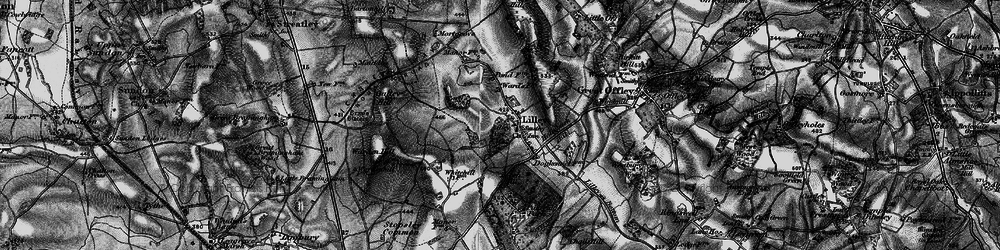 Old map of Lilley in 1896