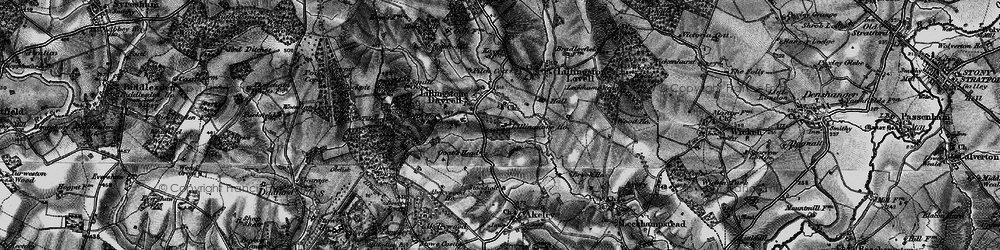Old map of Tilehouse Wood in 1896