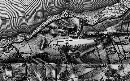 Old map of Lilstock in 1898