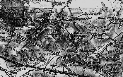 Old map of Lilyvale in 1895
