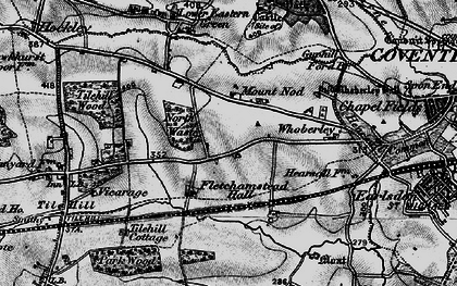 Old map of Lime Tree Park in 1899