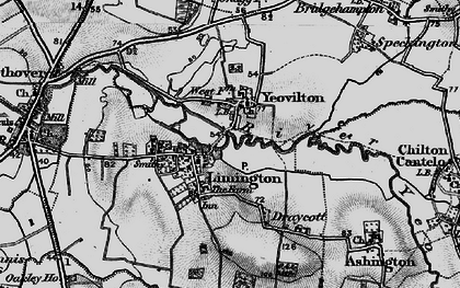 Old map of Limington in 1898