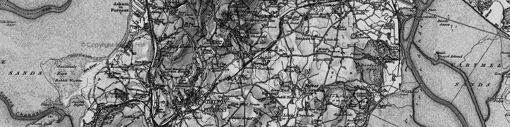Old map of Whinfield in 1897