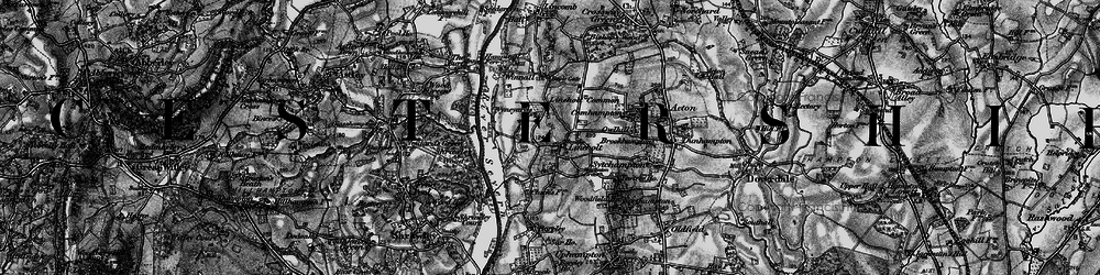 Old map of Wyneyards in 1898