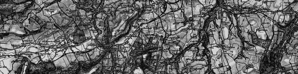 Old map of Lingdale in 1898