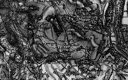 Old map of Linleygreen in 1899