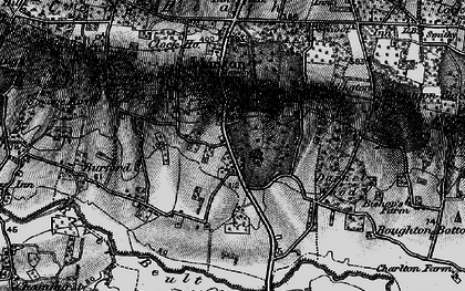 Old map of Linton Park in 1895