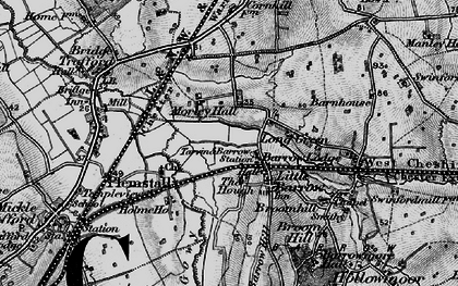 Old map of Ardmore in 1896