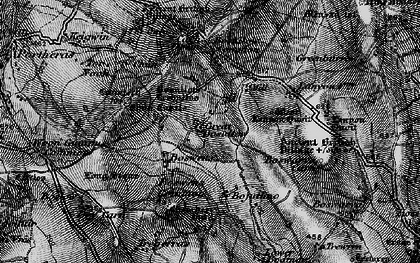 Old map of Little Bosullow in 1895